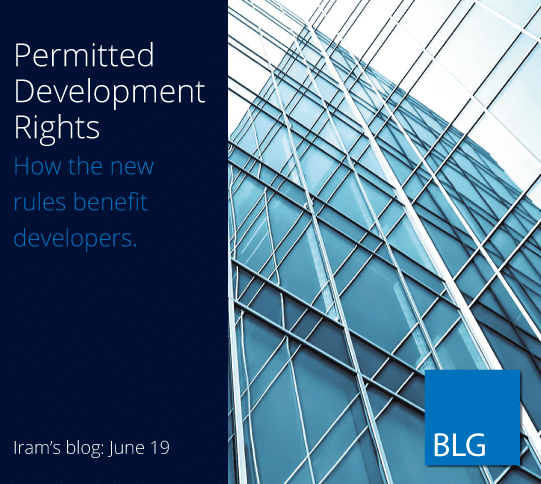 Permitted Development Rights - How the new rules benefit developers