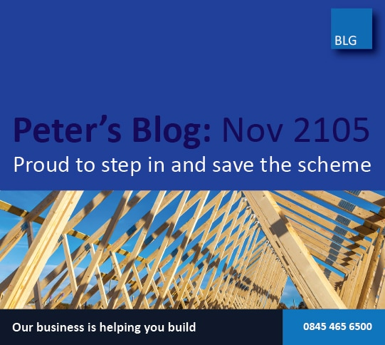 Peter's blog: Fast finance arranged to save the scheme