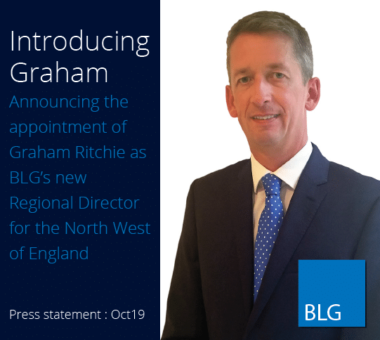Introducing Graham. Announcing the appointment of Graham Ritchie as BLG's new Regional Director for the North West of England