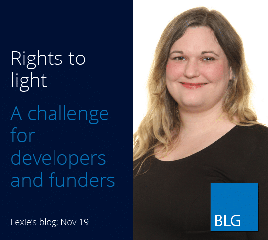 Tights to light. A challenge for developers and funders.
