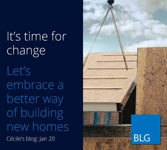 It's time for change. Lets embrace a better way of building homes.