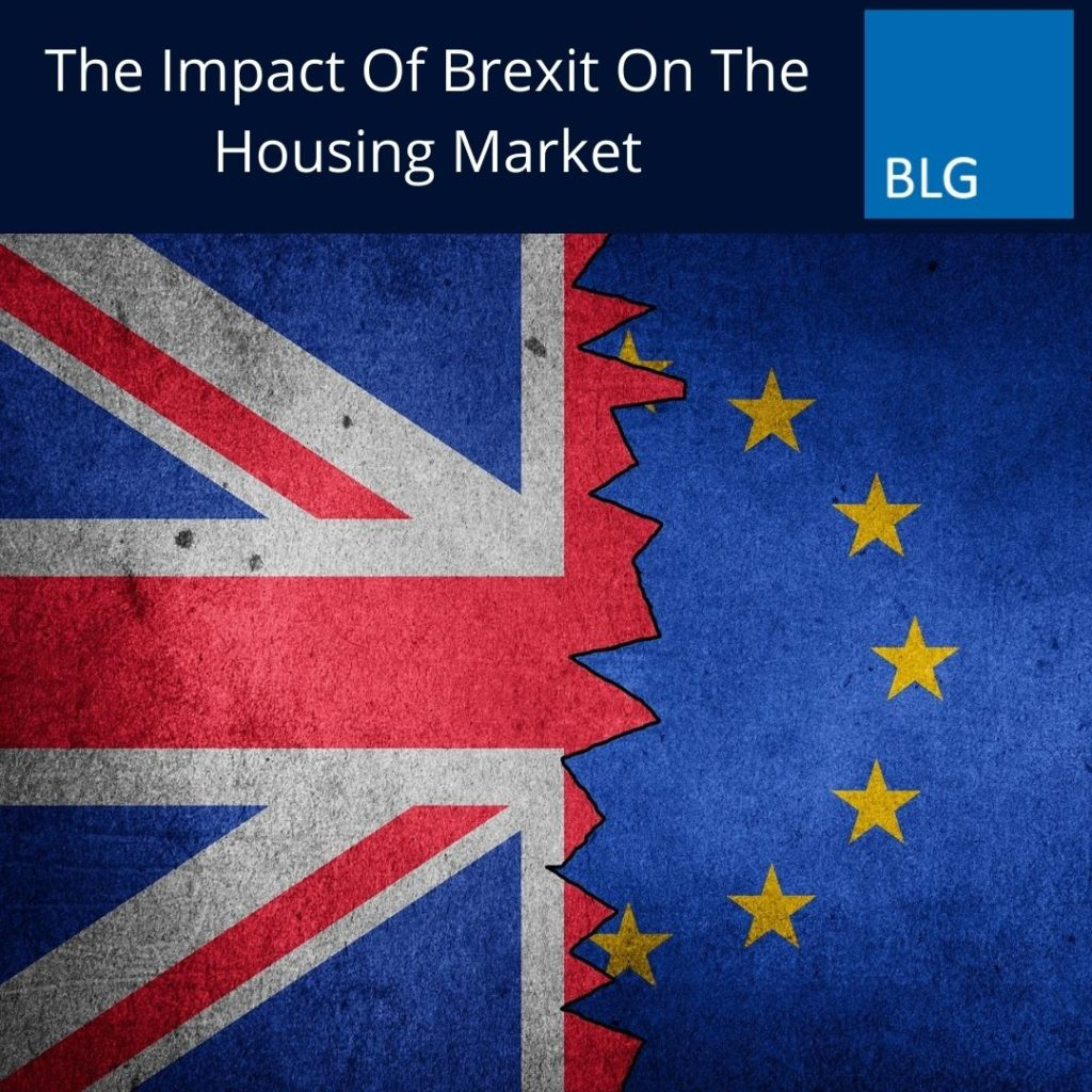 The Impact Of Brexit On The Housing Market Graphic